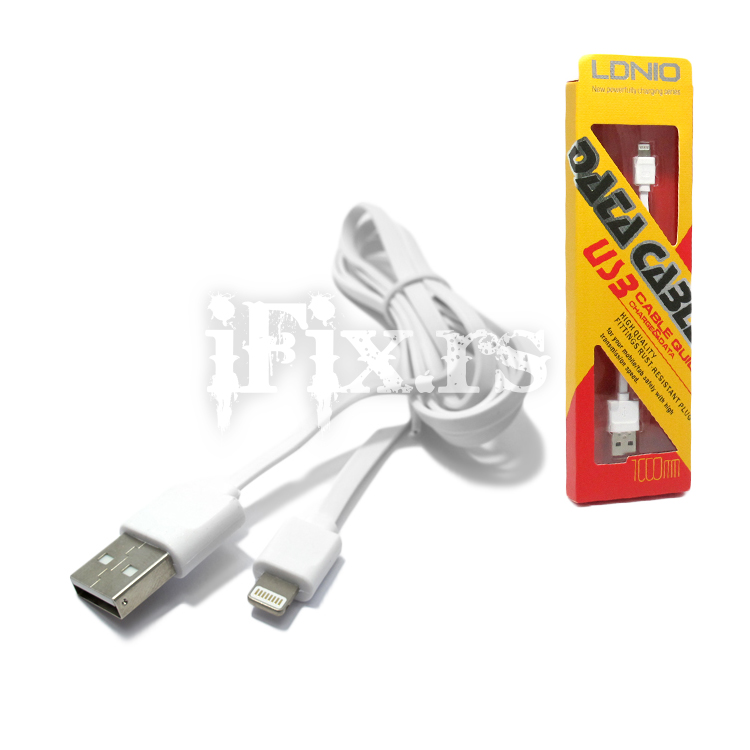 LDNIO LS10 USB To microUSB Cable 1m کابل شارژ الدینیو ls-10 کابل شارژ الدینیو ls-10