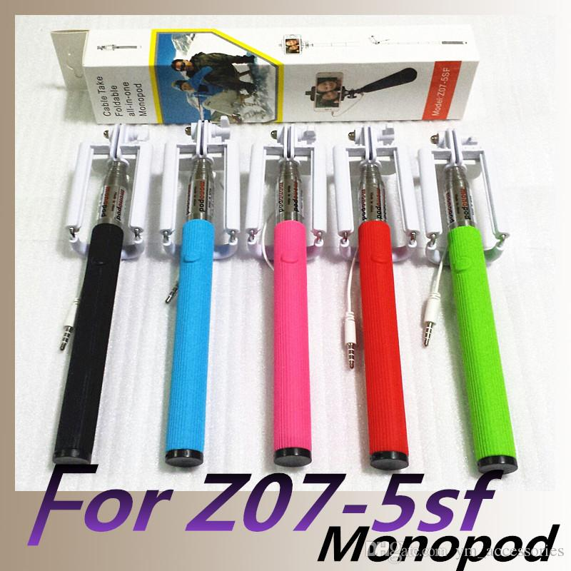 (Cable Take Wired Foldable All-in-one) Monopod Z07-5sf مونوپاد کابل دار مدل Monopod Z07-5sf مونوپاد کابل دار مدل Monopod Z07-5sf