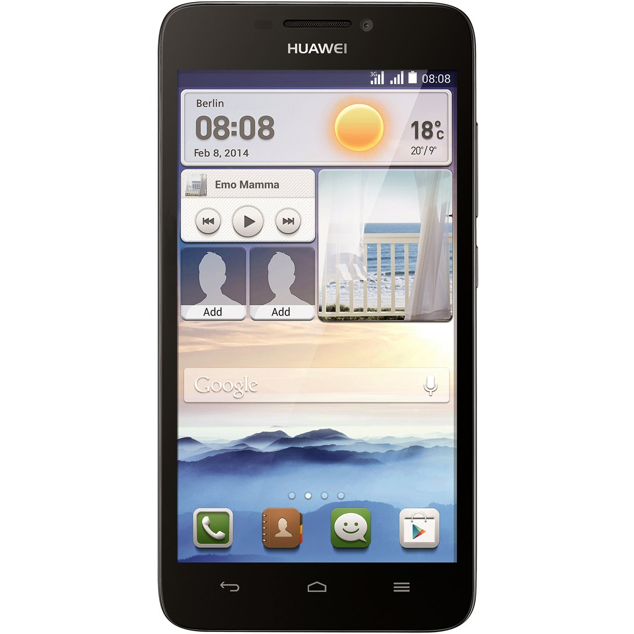 hide Glass Screen Protector For Huawei Ascend G630 Dual SIM