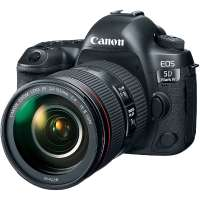 Canon EOS 5D Mark IV Digital Camera With 24-105 F4 L IS II Lens