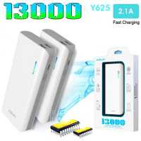 ARUN Y625 13000mAh 1A / 2A Dual USB Outputs Mobile Power Bank