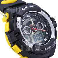 Lasika K - sport Press Button LED Digital Watch ساعت ورزشی مدل lasika k-sport