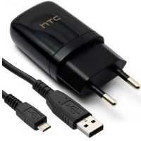 HTC Wall Charger - Model TC E250 With Cable شارژر دیواری اچ تی سی همراه با کابل