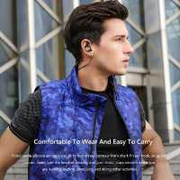 AWEI AK7 Intelligent Magnetic Control Bluetooth Earphone